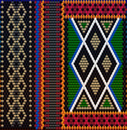 Pattern on Bedouin fabric Sadu. Colorful, bright, eye-catching, holding a look, inspiring. Иллюстрация