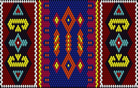 The traditional ornament of the inhabitants of the East