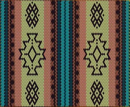 A traditional ornament of the peoples and countries of Asia, in which saturated colors attract luck and wealth. Women's woven carpets with ornament embroidered on fabrics for dresses. Embroidery patterns.