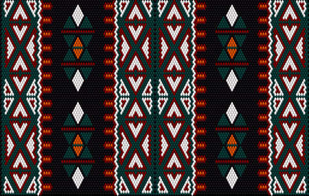 Women's woven carpets with ornament embroidered on fabrics for dresses. Embroidery patterns.