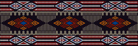 Ornament, mosaic, ethnic, folk pattern. It is made in bright, juicy, perfectly matching colors.
