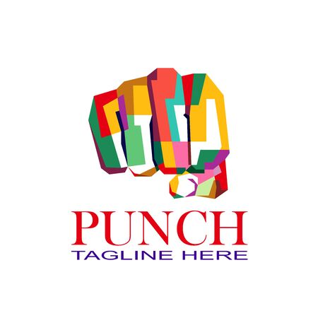 Punch colorful logo