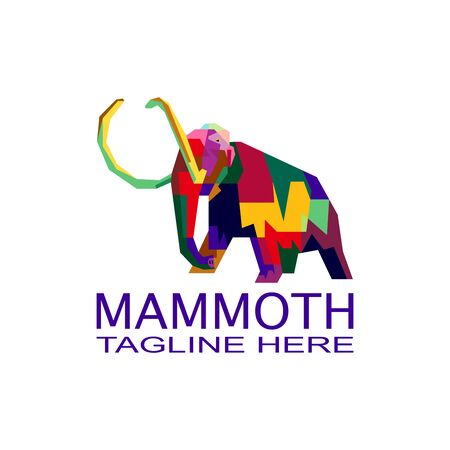 Mammoth colorful logo