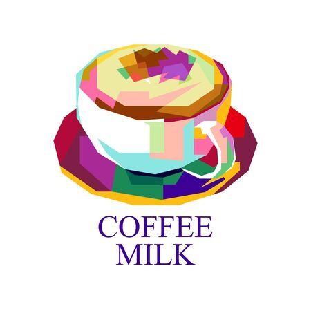 Coffee Milk Ilustração