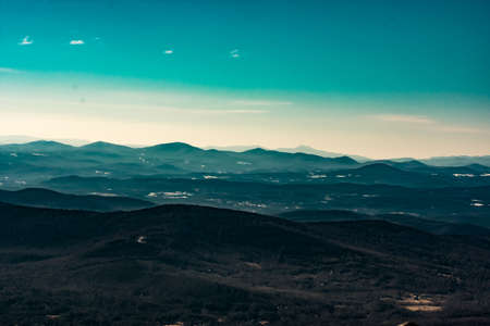Cannon Mountain in Franconia, NH via Hi-Cannon, Kinsman Ridge, and Lonesome Lake Trails Reklamní fotografie