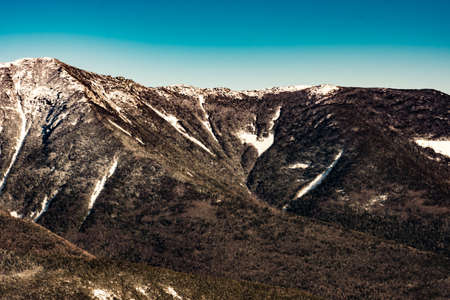 Cannon Mountain in Franconia, NH via Hi-Cannon, Kinsman Ridge, and Lonesome Lake Trails Reklamní fotografie