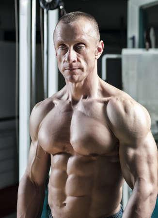 tricep: Muscle Men