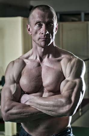 body conscious: Muscle Men
