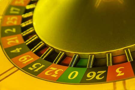 Part roulette in a casino