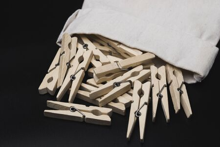 Clothespins. Clothespin for drying billiards.