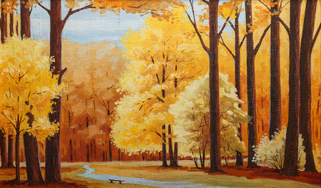 Beautiful Image of an original oil painting on canvas