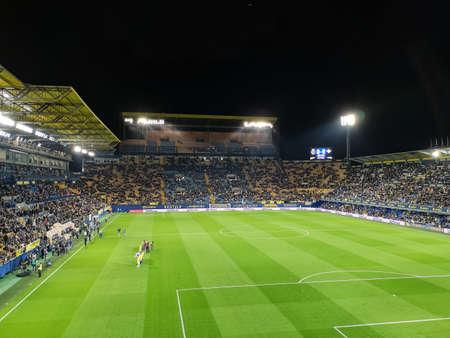 Villarreal, Spain 11/25/18: Stadium La Ceramica on match day