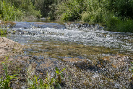 View of the Palancia River as it passes through Teresa