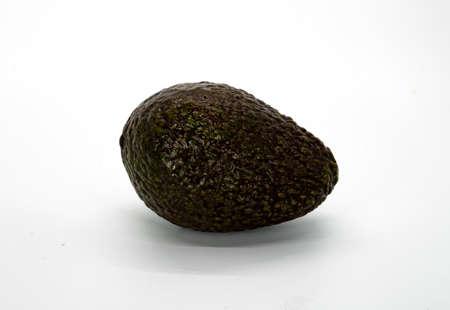 Avocado fruit isolated on white background