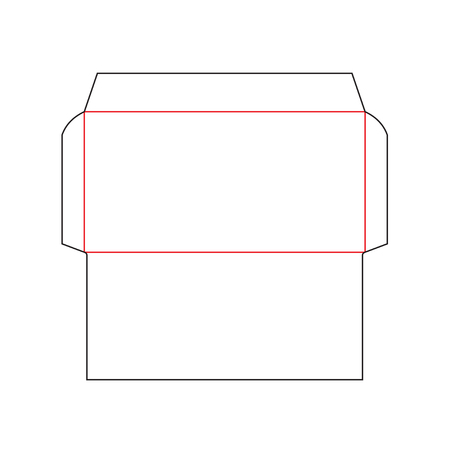 envelope DL size template