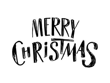 メリー クリスマスの文字
