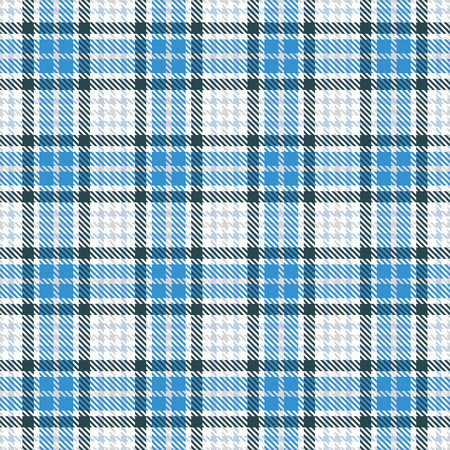 Checkered blue and white texture image illustration