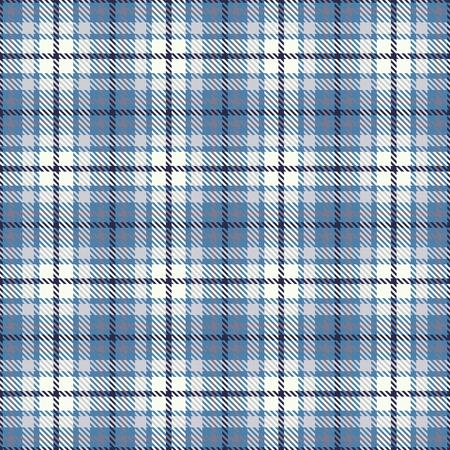 タータンシームレスベクトルパターン。チェックされたチェック柄のテクスチャ。生地の幾何学的正方形の背景