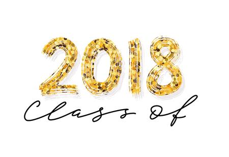 Class of 2018 image illustration Illusztráció