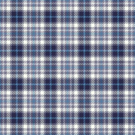 タータンシームレスベクトルパターン。チェックされたチェック柄のテクスチャ。織物の布、衣類、シャツショートパンツドレス毛布、ラッピング