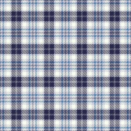 Patrón de vector transparente de tartán. Textura de cuadros a cuadros. Fondo cuadrado geométrico para tela