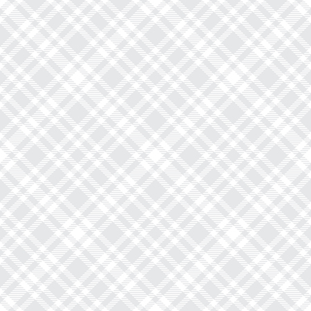 Tartan light gray seamless vector pattern. Checkered plaid texture. Geometrical simple square background for fabric textile cloth, clothing, shirts shorts dress blanket, wrapping design Reklamní fotografie - 109760610