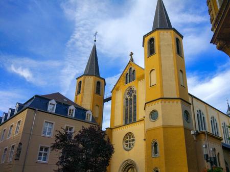 Église Saint-Alphonse (Saint Alphonse Church) in Luxembour City, Luxembourg, Europe Stock Photo