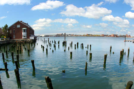 Abandoned wharf photo