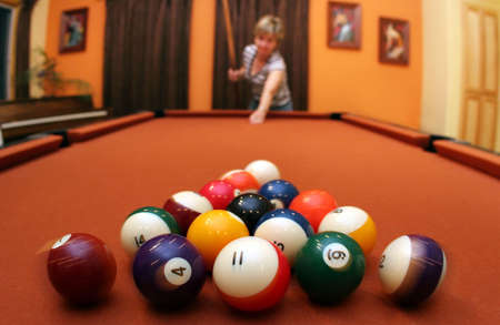 Game of pool Stock Photo - 221994