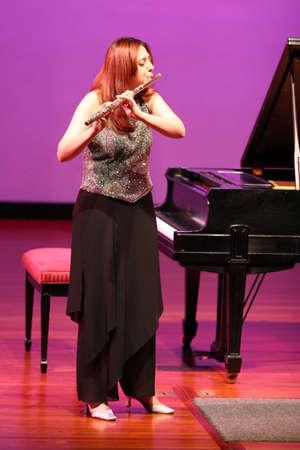 actief luisteren: Prachtige fluitist