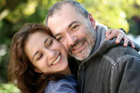 Happy couple outdoors Stock Photo - 291408
