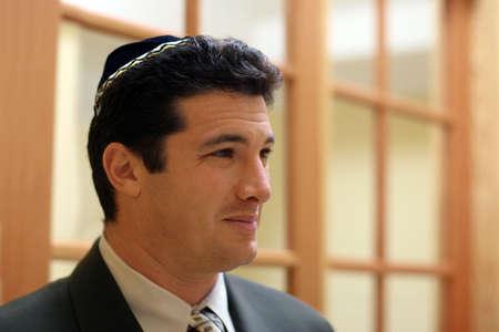 Young jewish man in yarmulke Stock Photo - 308454