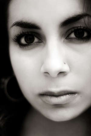 Sad middle eastern girl Stock Photo - 312733