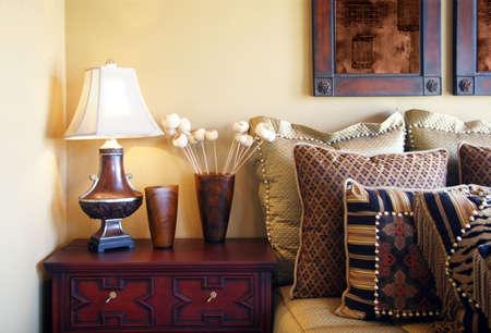 nightstands: Luxury bedroom