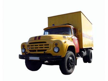 Big truck Reklamní fotografie