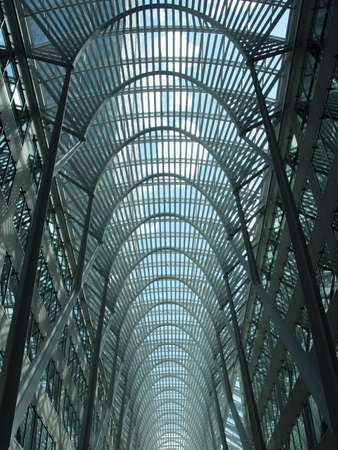 Blue skylight in Toronto