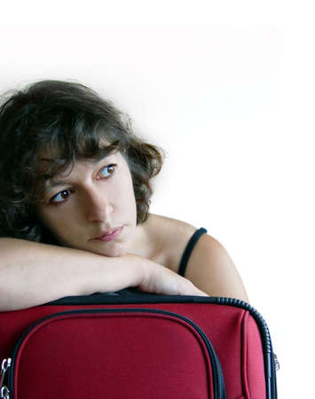 over packed: Quando la vacanza � eccessiva ed i sacchetti sono imballati... Archivio Fotografico