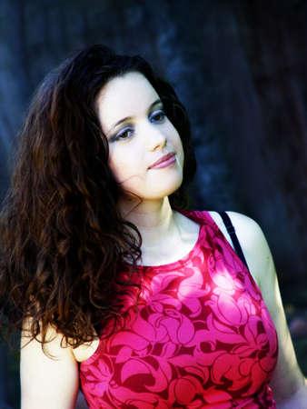 Beautiful young woman Stock Photo - 355964