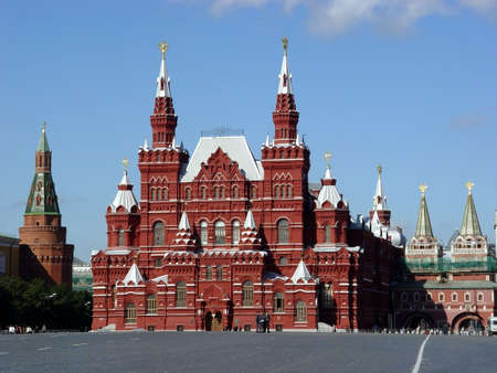 museum visit: Red Square,Moscow,Russia