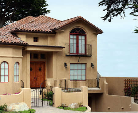 Beautiful modern house photo