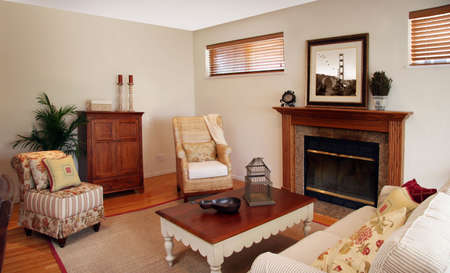 Old fashion living room Stock Photo - 470769