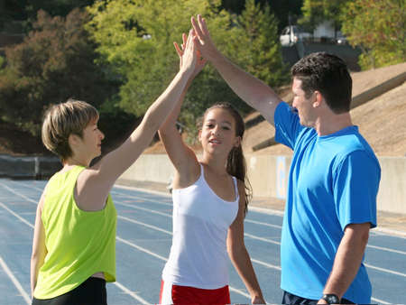 high five: High five
