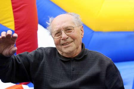 in loving memory: Grandfather Stock Photo