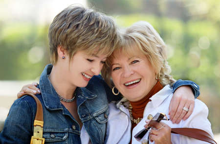 Mother and daughter having a good time together Stock Photo - 604990