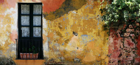 Old rustic house in Colonia, Uruguay