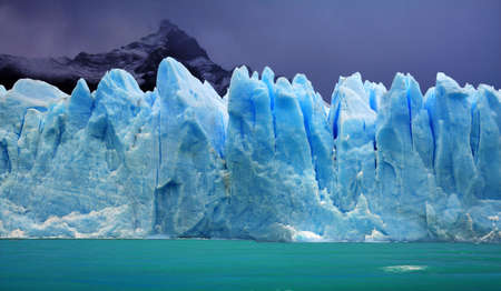 glacier: Perito Moreno Glacier, Argentina Stock Photo