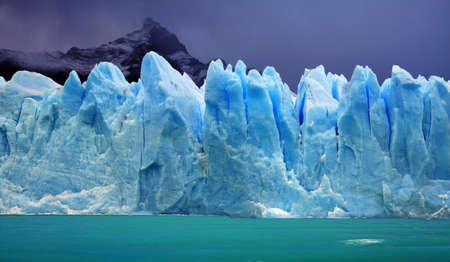 glacier national park: Perito Moreno Glacier, Argentina Stock Photo