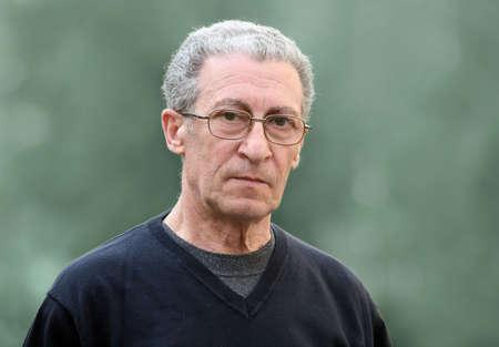 A portrait of a serious senior man Stock Photo - 4863150