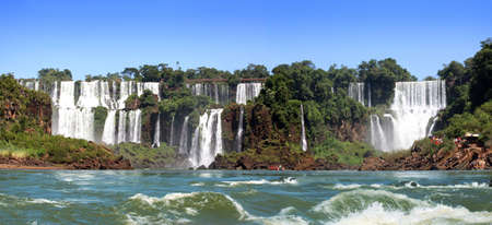 Iguazu Falls was short-listed as a candidate to be one of the New7Wonders of Nature by the New Seven Wonders of the World photo