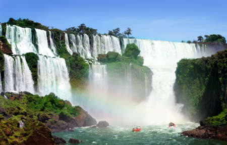 Iguazu Falls was short-listed as a candidate to be one of the New7Wonders of Nature by the New Seven Wonders of the World Stock Photo - 4923407